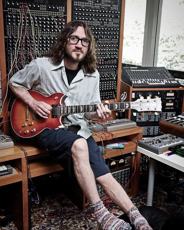 John Frusciante in Trickfinger
